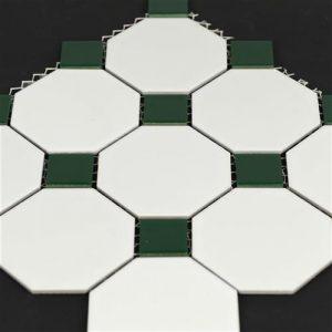 4od-mw-0394-white-dark-green-octagonal-mosaics