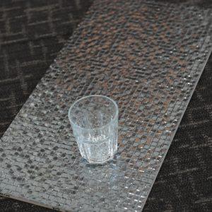 BJ3611 Metal Grid Dark Silver 300x600