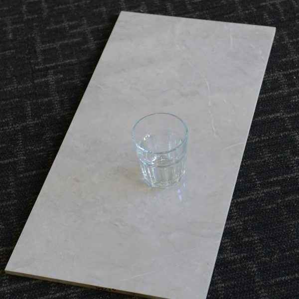 QI6P6572M Premium Marble Light Grey Gloss 300x600