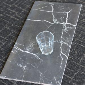 SQIP989 Premium Marble Black Matt 300x600
