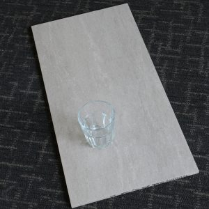 Travertine Light grey matt 300x600