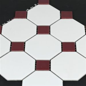 4od-mw-0572-white-burgundy-octagonal-mosaics