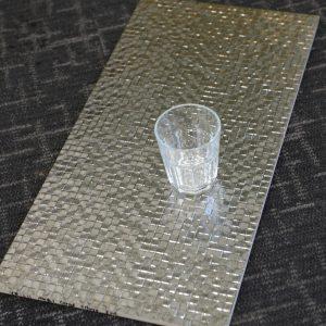 YR3611 Metal Grid Silver 300x600
