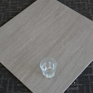 Travertine Dark Grey Lappato 600x600