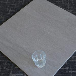 Travertine Dark Grey Matt 600x600