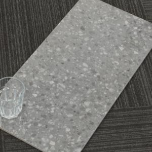 ZZ6079.Terrazo Charcoal Gloss.600x300